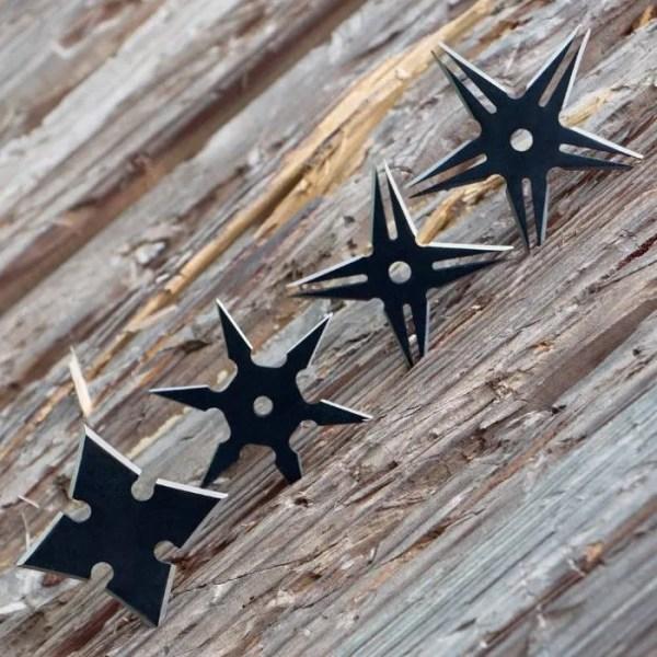 Ninja Stars, Set of Four-1003