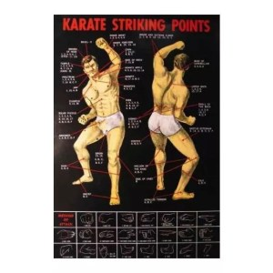 Martial Arts Stretches Poster-0