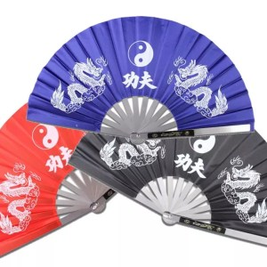 Fighting Fan, Metal, Choice of Colors-0