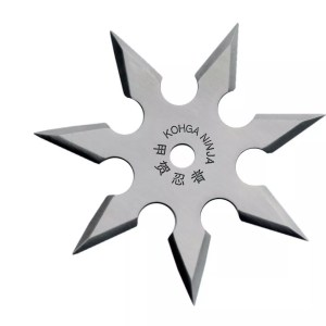 7-point Throwing Star, Stainless-0