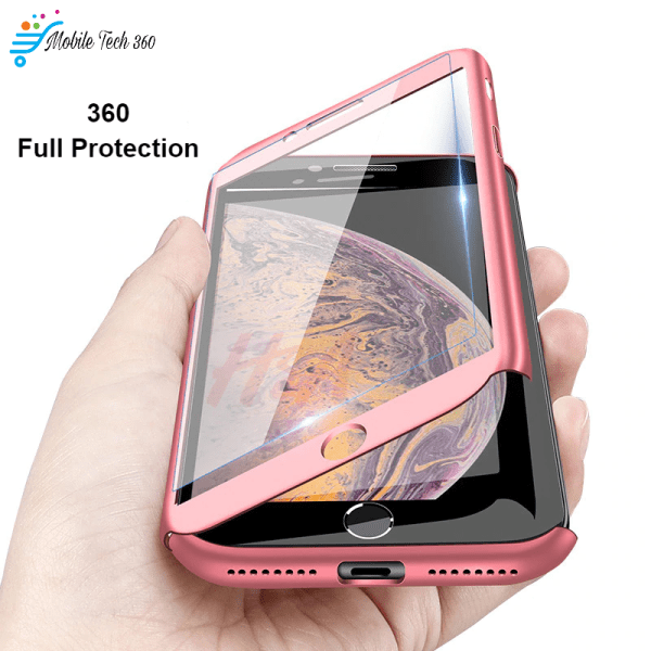 360 Full Protection Phone Case For iPhone XS MAX XR X 6 6s 7 8 Plus 5 5S SE Cover