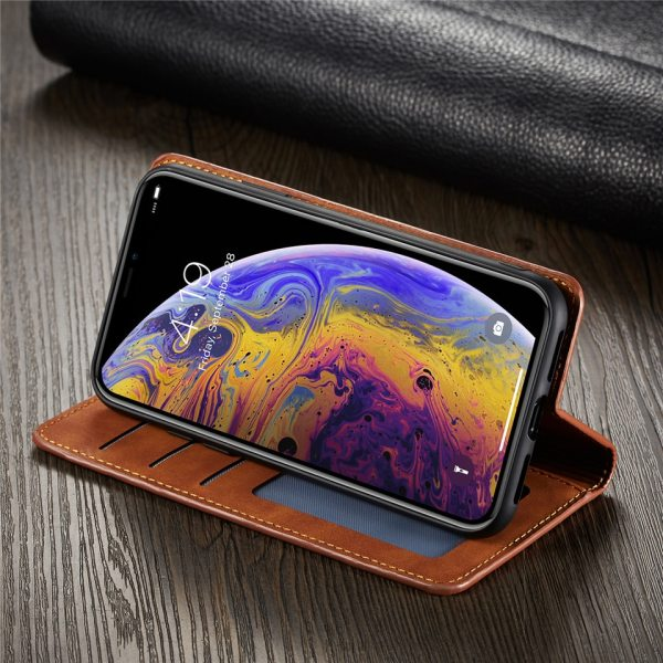 Luxury Case For iPhone XS MAX XR X 8 Plus 6 6S Plus 7 Plus Leather Flip Wallet Magnetic Cover With Card Holder Book