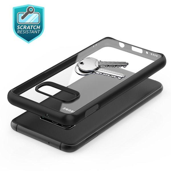 Samsung S10 Lite,S10,S10 Plus Case Soft Silicone Frame Hard PC Transparent Cover