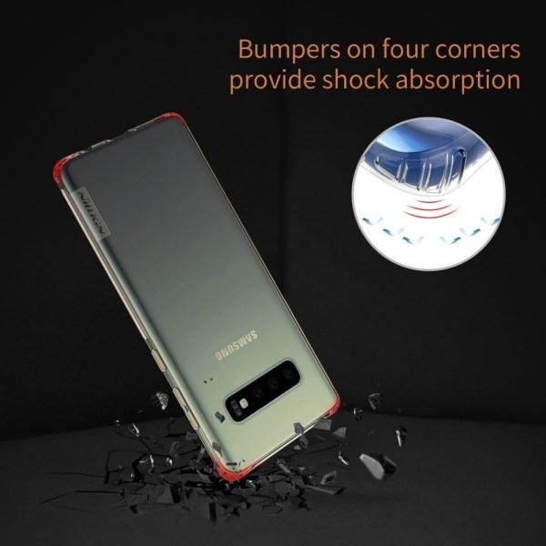 Samsung S10 Plus,S10+ ,S10e NILLKIN TPU Transparent soft back cover case