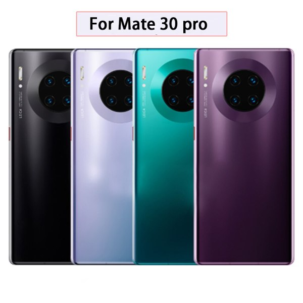 Back Shell Battery Glass Cover Replacement Case Housing Shell for Huawei Mate 30, Mate 30 Pro