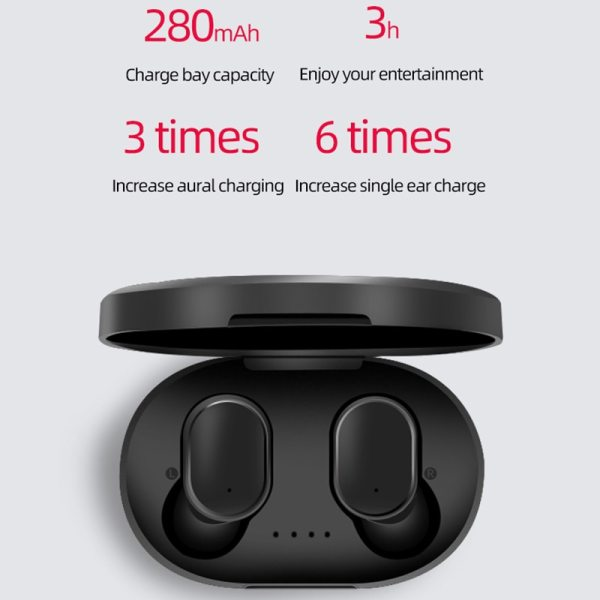 A6S wireless earbuds bluetooth tws headset