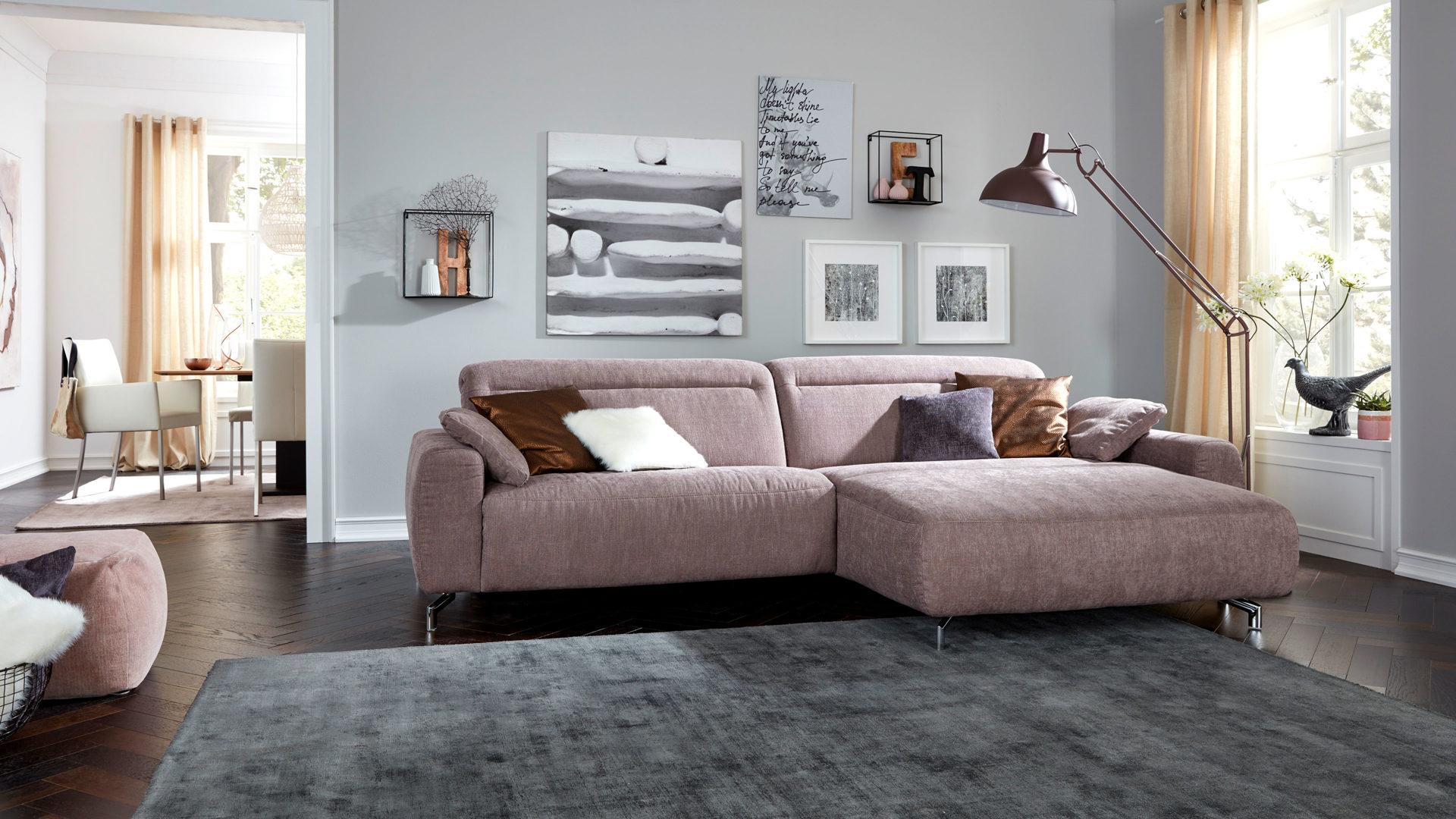 mobel boer coesfeld mobel boer interliving interliving sofa serie 4151 eckkombination lavendelfarbener stoffbezug 635 95 schenkelmass ca