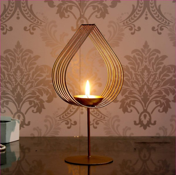 Decorative Golden Eye Wall Sconce Candle Holder
