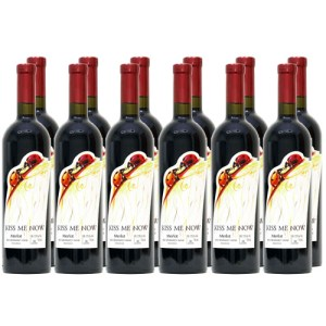 Merlot Kiss Me Now Wine from Moldova