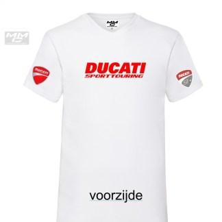 V-hals T-shirt UNI