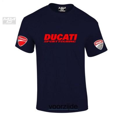 ST-Ducati T-shirt Donkerblauw