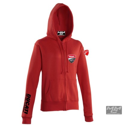 ST-Ducati Zoodie Rood-lady