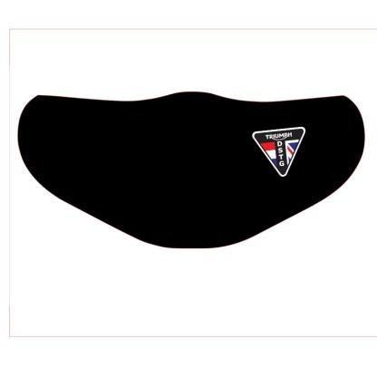 DSTG Anti-Viraal mondkapje-mondmasker klein logo links
