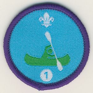 105861 Time on Water Stage 1 Badge