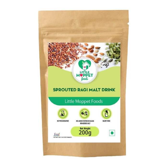 Sprouted Ragi Malt Drink