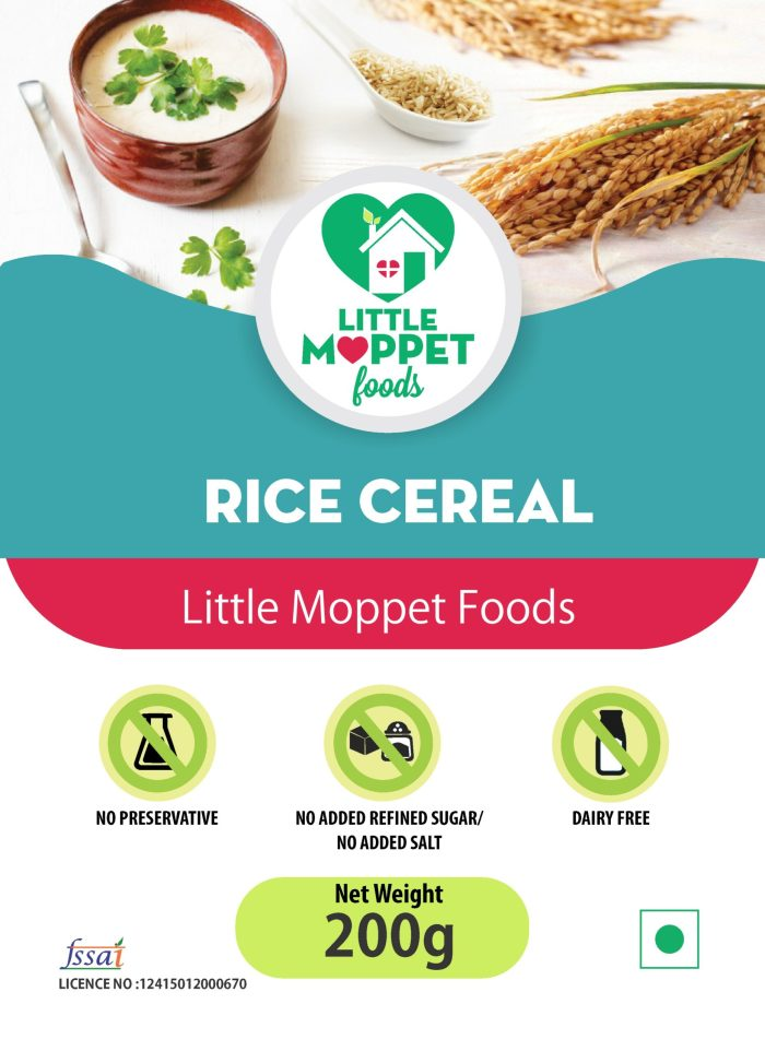 Rice Cereal for babies