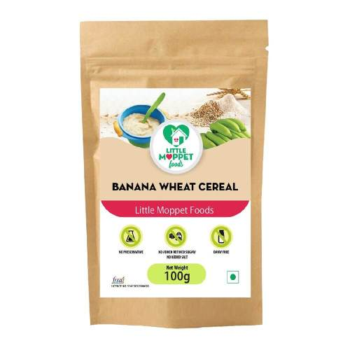 Banana Wheat Cereal 100g