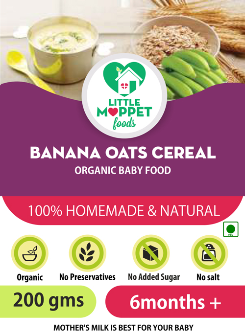 how to make oats porridge with banana for babies