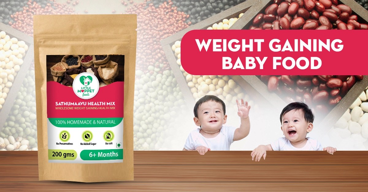 Weight Gaining Health Mixes for babies