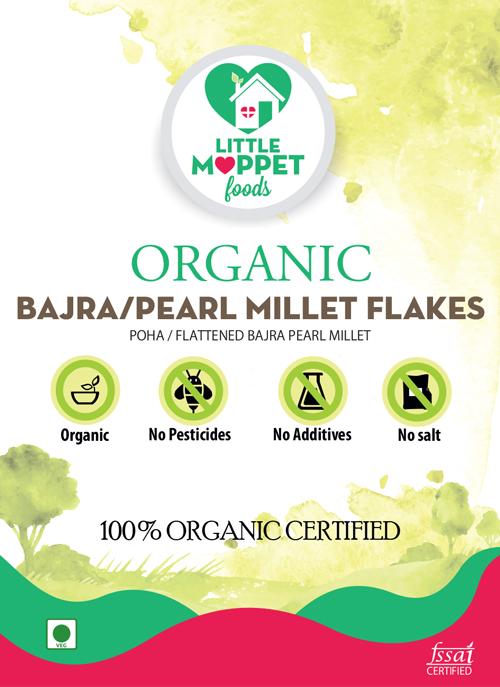 buy organic pearl millet flakes bajra poha online india
