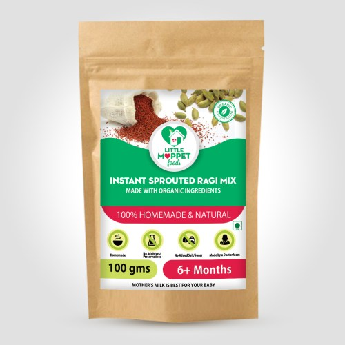 Instant Sprouted Ragi Mix