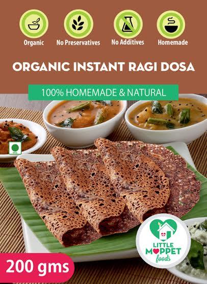 Little Moppet Foods Instant Ragi Dosa