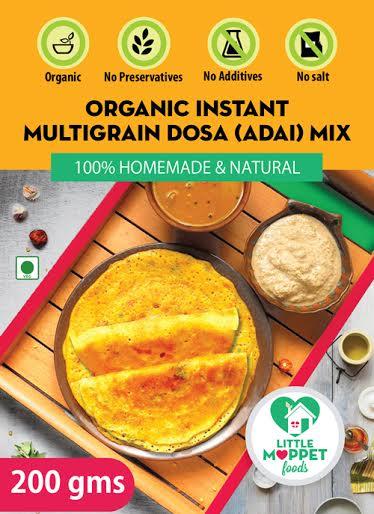 Little Moppet Foods Organic Instant Multigrain Dosa 1