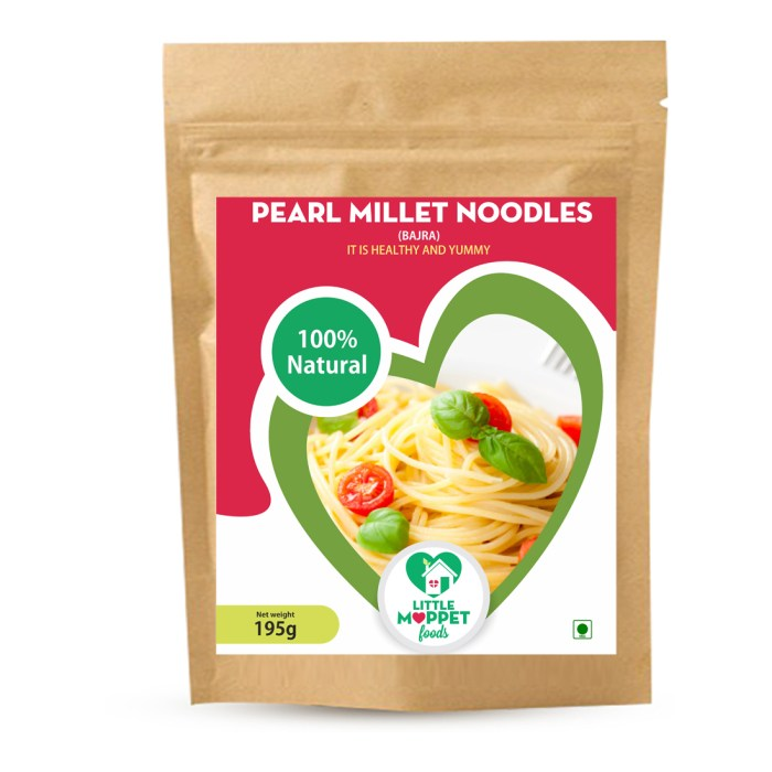 Pearl Millet Noodles are yummy noodles for the entire family with high amounts of protein, iron, calcium and all the essential nutrients.