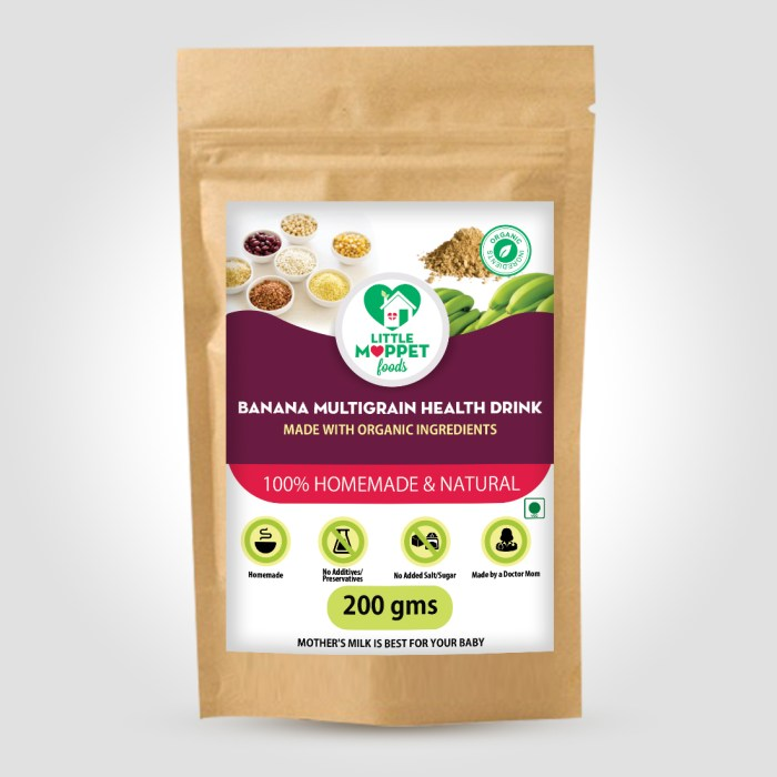 Cater the nutrients need of your picky eater by adding this amazing Banana Multigrain Health Drink in regular diet. It's a wholesome health drink.
