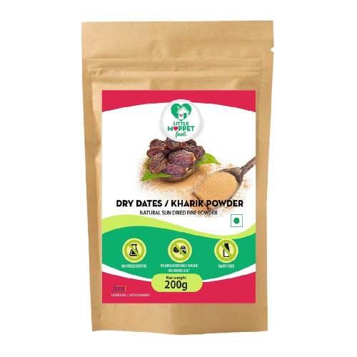 Dried Dates Powder - Dried Kharik Powder [200g]