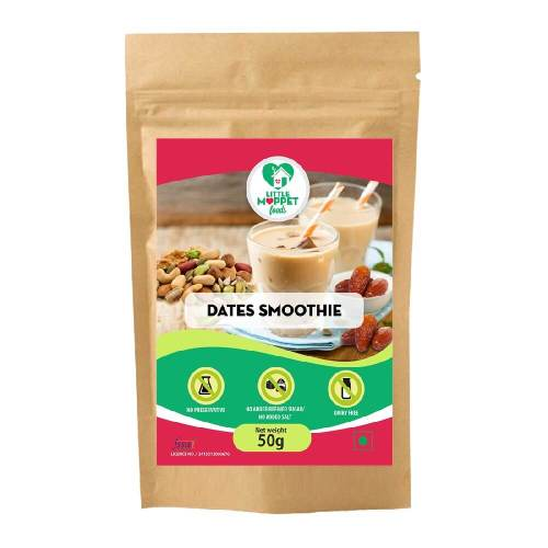 Dates Smoothie Mix - Instant Drink Mix Powder For Kids And Adults - [Trial Pack 50g]