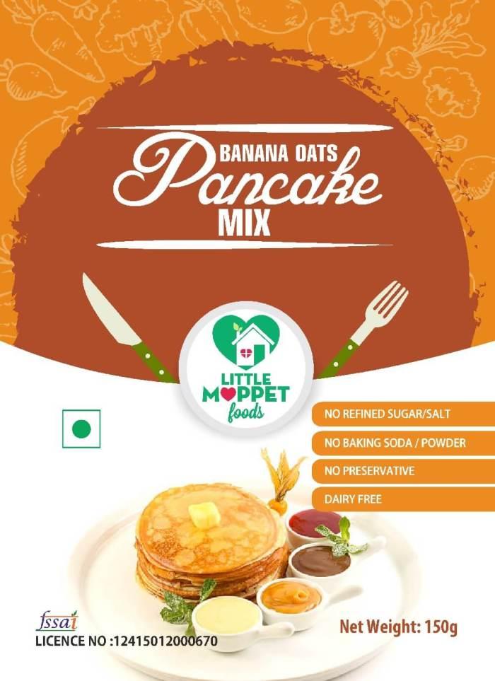 Banana Oats Pancake Mix [150g]