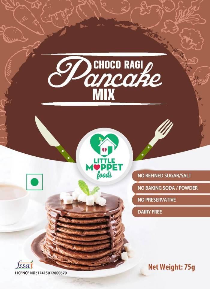 Choco Ragi Pancake - Trial Pack (75g)