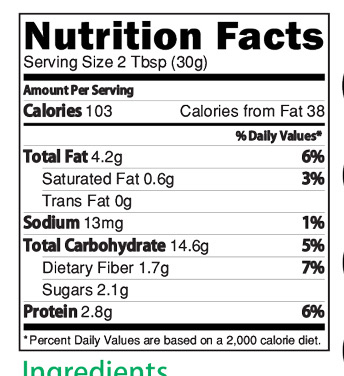 Chocolate Multigrain Health Drink for Kids Nutrition Facts