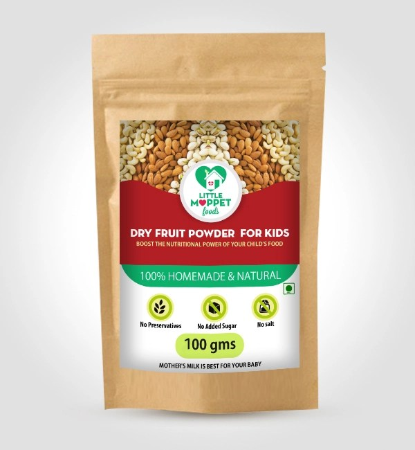 Dry fruits powder for kids