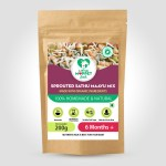 Sprouted Sathumaavu Health mix is a protein rich weight gaining powder for babies, toddlers, kids. Sprouting of the ingredients increases the nutrition.