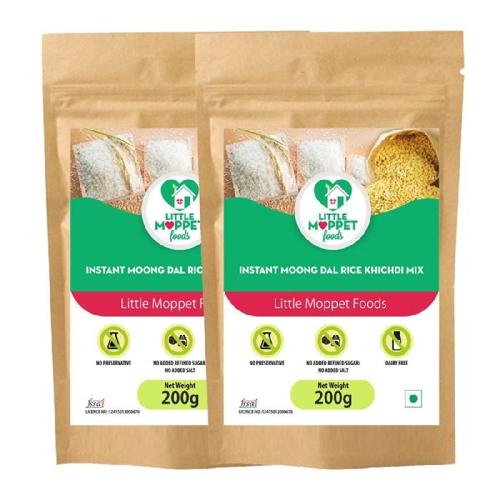 Instant Moongdal Rice Kh1ichdi Mix Super Saver Pack