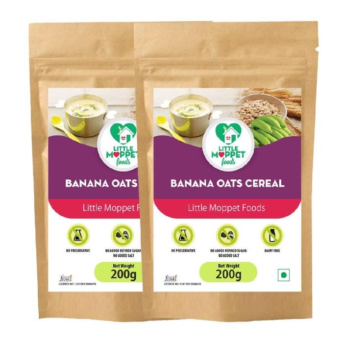 Banana Oats Cereal
