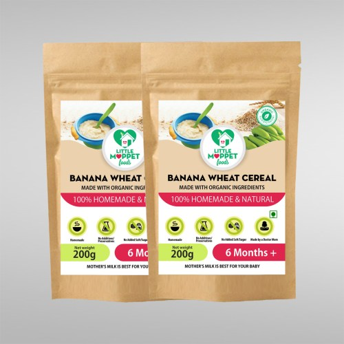 Banana Wheat Cereal Super Saver Pack