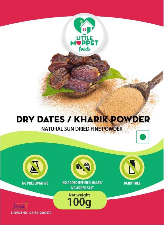 Dried Dates Powder - Dried Kharik Powder (100g)