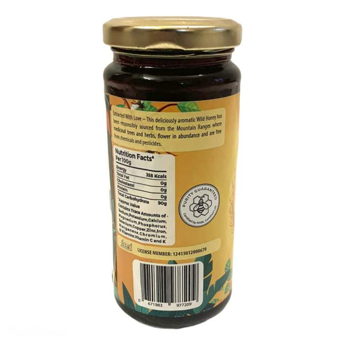 Little Moppet Foods Raw unprocessed Forest Honey