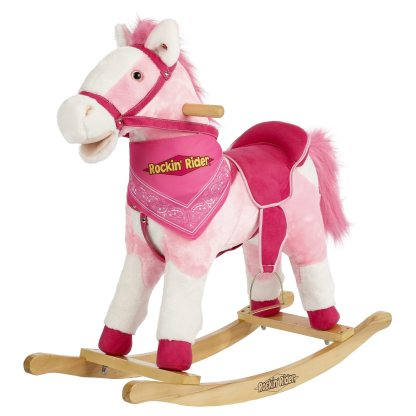 Rocking Horse Pink Holly Rockin Rider