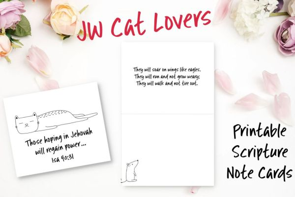 JW Cat Lovers Cards