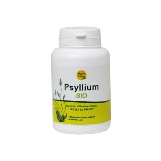 organic psyllium in capsules