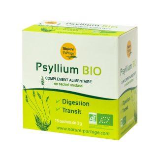 Organic psyllium single dose bag