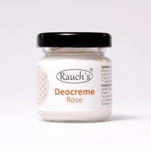 Deocreme aus natürlichen, biologischen Inhaltsstoffen ohne Aluminium.