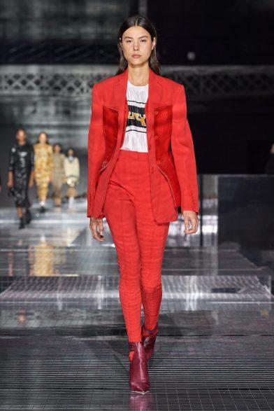 Mandarin Red, Samba and Burnt Henna fabrics for dressmaking