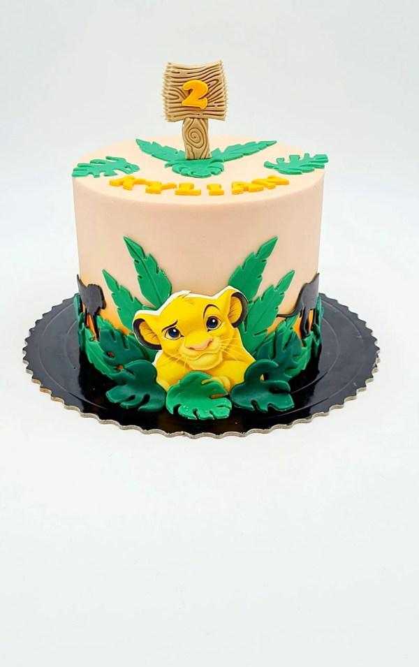 ROI LION CAKE DESIGN