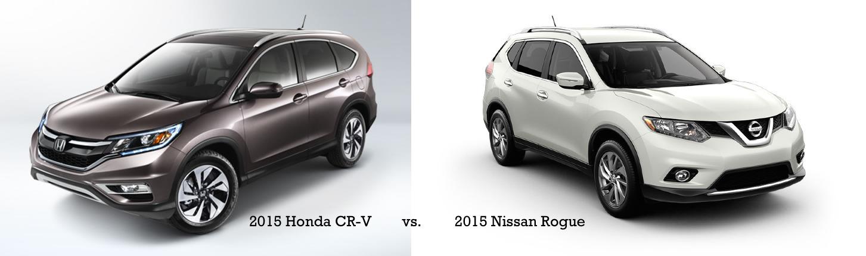 2015 Honda CR-V vs. 2015 Nissan Rogue