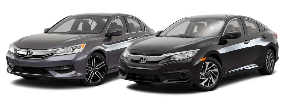Accord Coupe and Civic Coupe